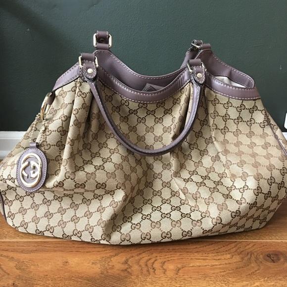 7c3819c4c76a Gucci Bags | Authentic Sukey Monogram Large Tote Bag | Poshmark