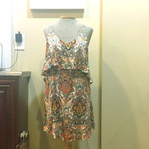 Forever 21 Paisley Dress Size L