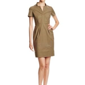 "NWT $398 Lafayette 148 ""Yaelle"" Stretch Dress Sz 4"