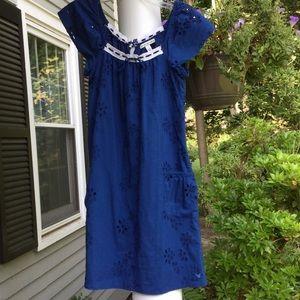 AEO Cotton eyelet dress