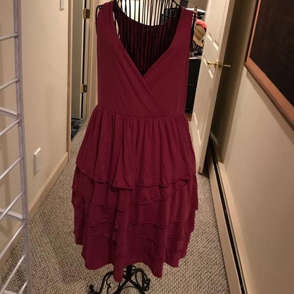 0e788f5746b2d Garnet Hill Dresses | Sale Raspberry Dress Size M Sleeveless | Poshmark