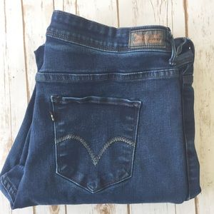 Levi 512 Perfectly Shaping bootcut v pocket jeans