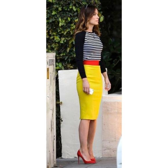 c3fbc8f16b bebe Dresses & Skirts - Bebe High Waisted Pencil Skirt W slit
