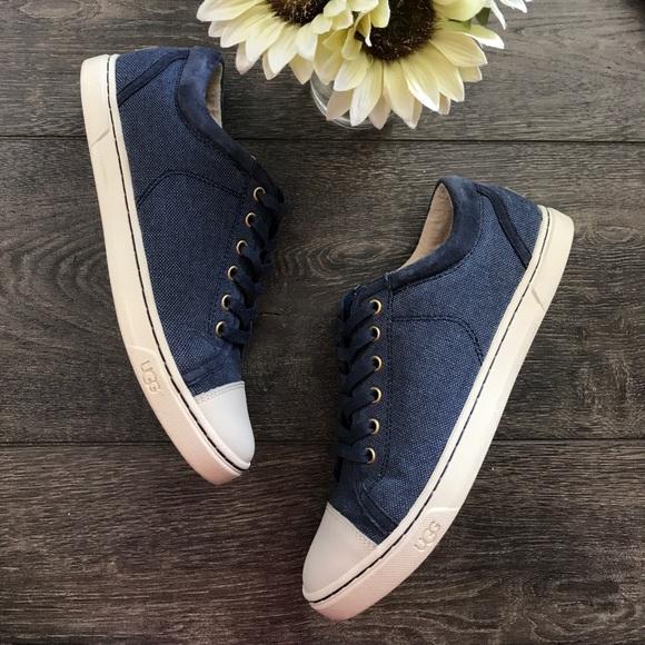 ba3fd3f3c22 Ugg Taya canvas sneakers in navy