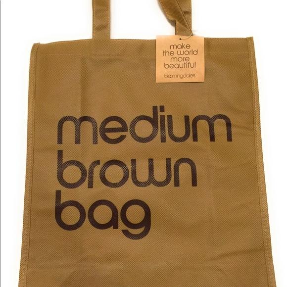 03cbdf281e Bloomingdale's Bags | Bloomingdales Medium Brown Bag Nwt Ecco Bag ...