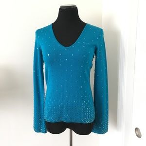 INC International Concepts Sequin Sweater
