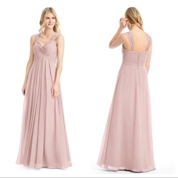 e7abe584392 Azazie Kaitlynn Bridesmaid Dress in Dusty Rose