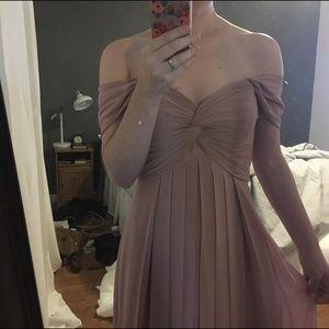 0077e62c2cd azazie Dresses - Azazie Kaitlynn Bridesmaid Dress in Dusty Rose