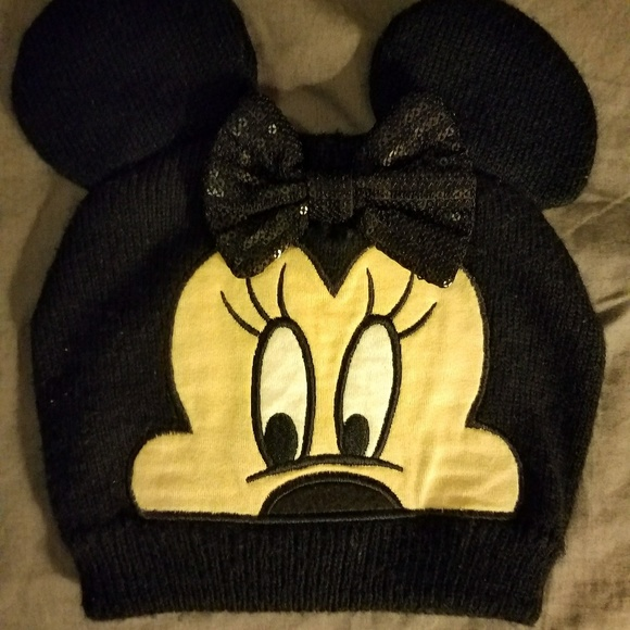 Disney Other - Minnie Mouse winter hat toddler girls 5c3b53916db9