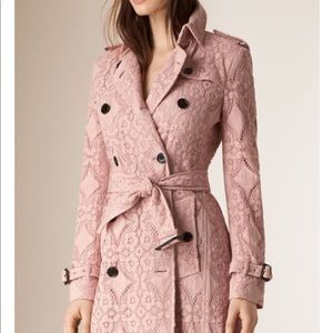 ISO PLEASE!! Burberry trench coat pink or berry!!