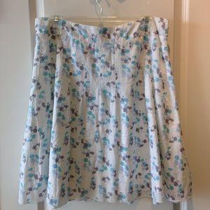 AEO Flowered Skirt