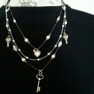 Jewelry - Betsy Johnson Charm Necklace