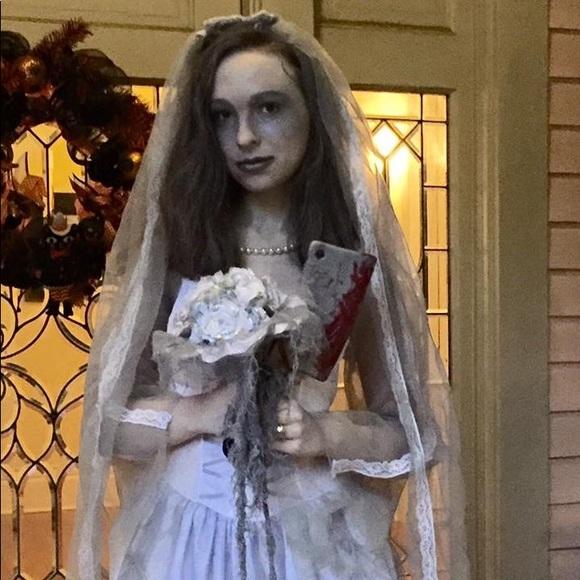disney haunted mansion bride halloween costume
