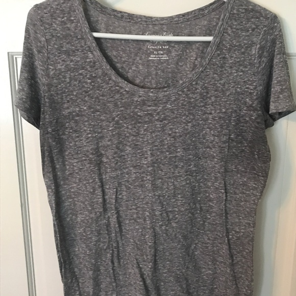 ccaf58b1 American Eagle Outfitters Tops - American Eagle Gray Favorite Tee Shirt  size XL