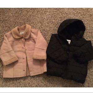 Lot of 2 gender neutral Coats. Size 18 months.