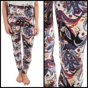 Paisley Print Leggings 6