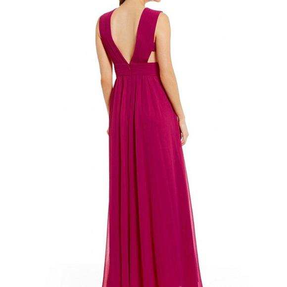 Badgley Mischka Dresses | Belle Nickola Georgette Dress | Poshmark