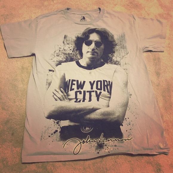 Tops - John Lennon NYC Shirt 4b69acf6bc5