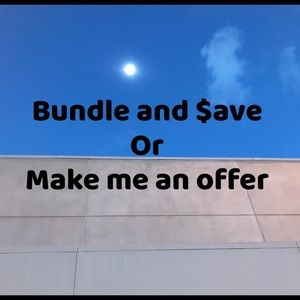 I offer a great bundle discount I'm open to offers