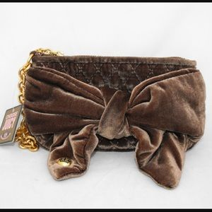 💘JUICY COUTURE 💘Chocolate Brown Wristlet 💘