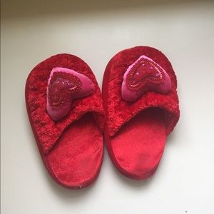 Shoes - Red Heart Slippers