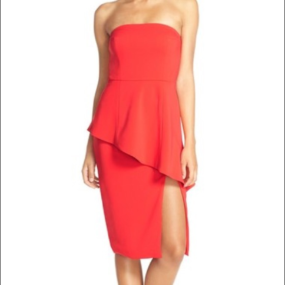 17da60d3687 Jay Godfrey NWT Angie Peplum Sheath Dress