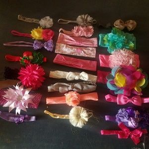 Other - Lot of baby headbands