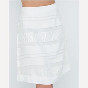 Dresses & Skirts - White dressy knee length skirt 💍💄