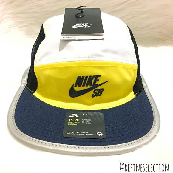 Nike SB Windrunner 5 Panel Reversible Cap Hat AW84 9222ae81741