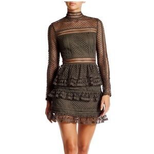 Romeo and Juliet Couture Lace layered dress