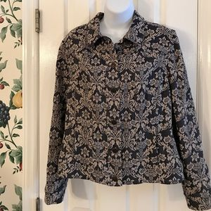 Jackets & Blazers - Chico's Floral Vintage Jacket