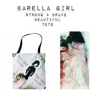 🎉HP 11/15/17🎉🎉Barella Girl Tote Strong & Brave
