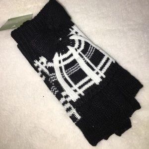 NWT Kate Spade ♠️Scuba Plaid Plaid Gloves