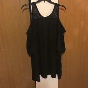 NWOT cold shoulder little black dress