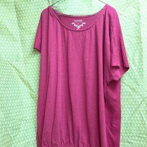Sonoma banded bottom t-shirt
