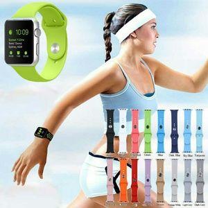 Apple Watch Silicone Wrist Bracelet Sport Bands