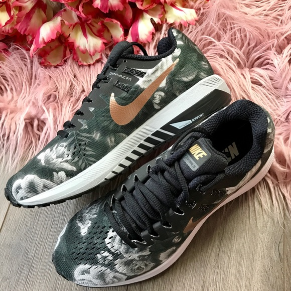 34168f602839 Nike Id With Floral Swoosh