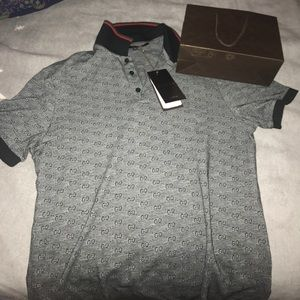f9cb35d7a89b64 Gucci Shirts - Gucci Polo Shirt Authentic
