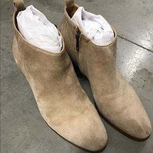 LOWEST!!! J Crew Suede Boots