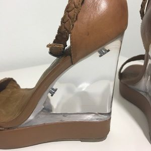 Jeffrey Campbell Shoes - Jeffrey Campbell Clear Wedge