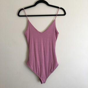 PacSun Tops - PacSun LA Hearts Pink Bodysuit