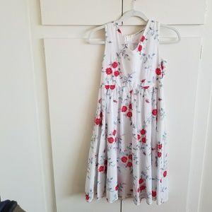 Dresses & Skirts - Adorable Embroidered Midi Dress