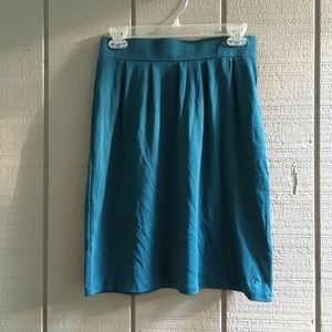 LAST CHANCE - NWOT Teal Fair Indigo Pencil Skirt