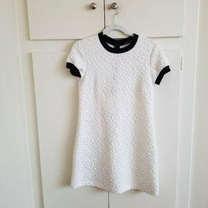 Zara White Patterned Dress