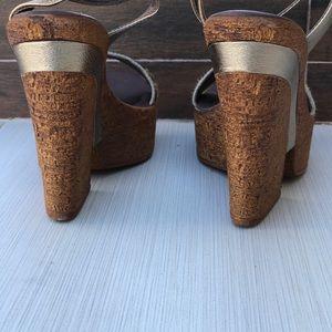 701cc9a19e58 Free People Shoes - Boho Chic Cheetah Calf Hair Platform Wedge