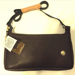 Handbags - NWT Genuine Buffalo leather shoulder bag