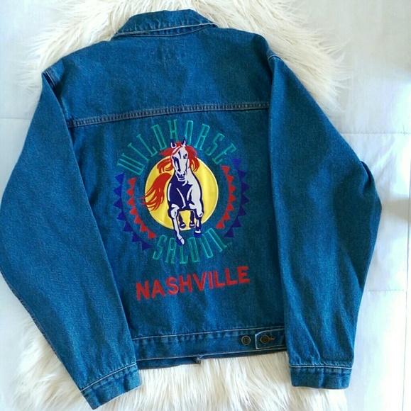 e7b1e036c Vintage Jackets & Coats | Embroidered Denim Jacket | Poshmark