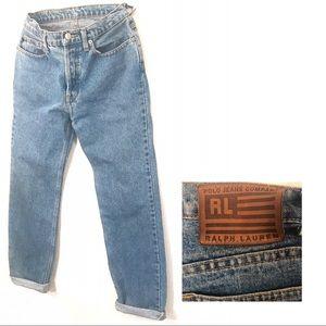 High-waisted vintage Ralph Lauren Denim Jeans