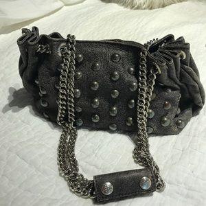Handbags - 🎉sale🎉Studded purse. Metallic grey.