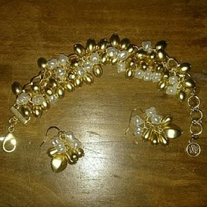 Lilly Pulitzer Bracelet & Earring Set
